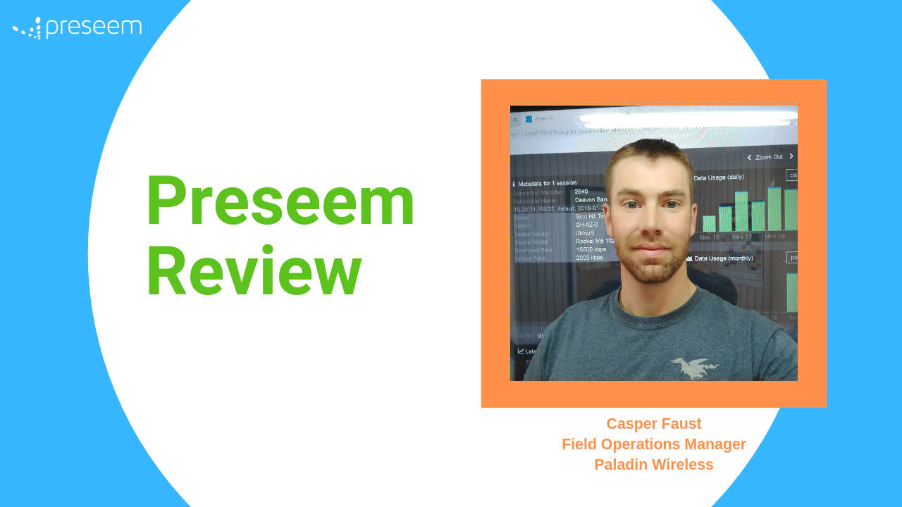 Preseem Review – Video Testimonial by Casper from Paladin Wireless