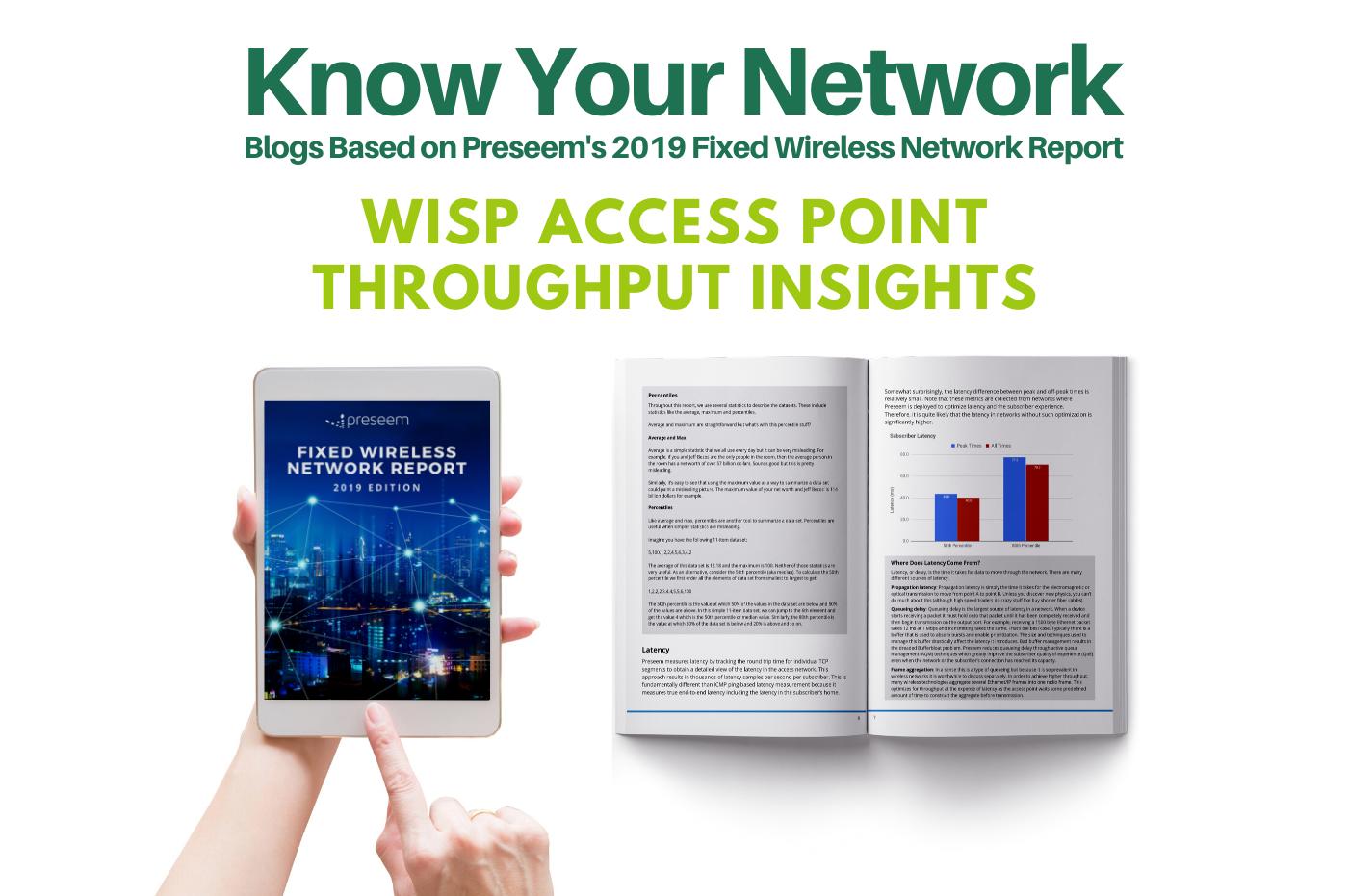 WISP Access Point Throughput Insights