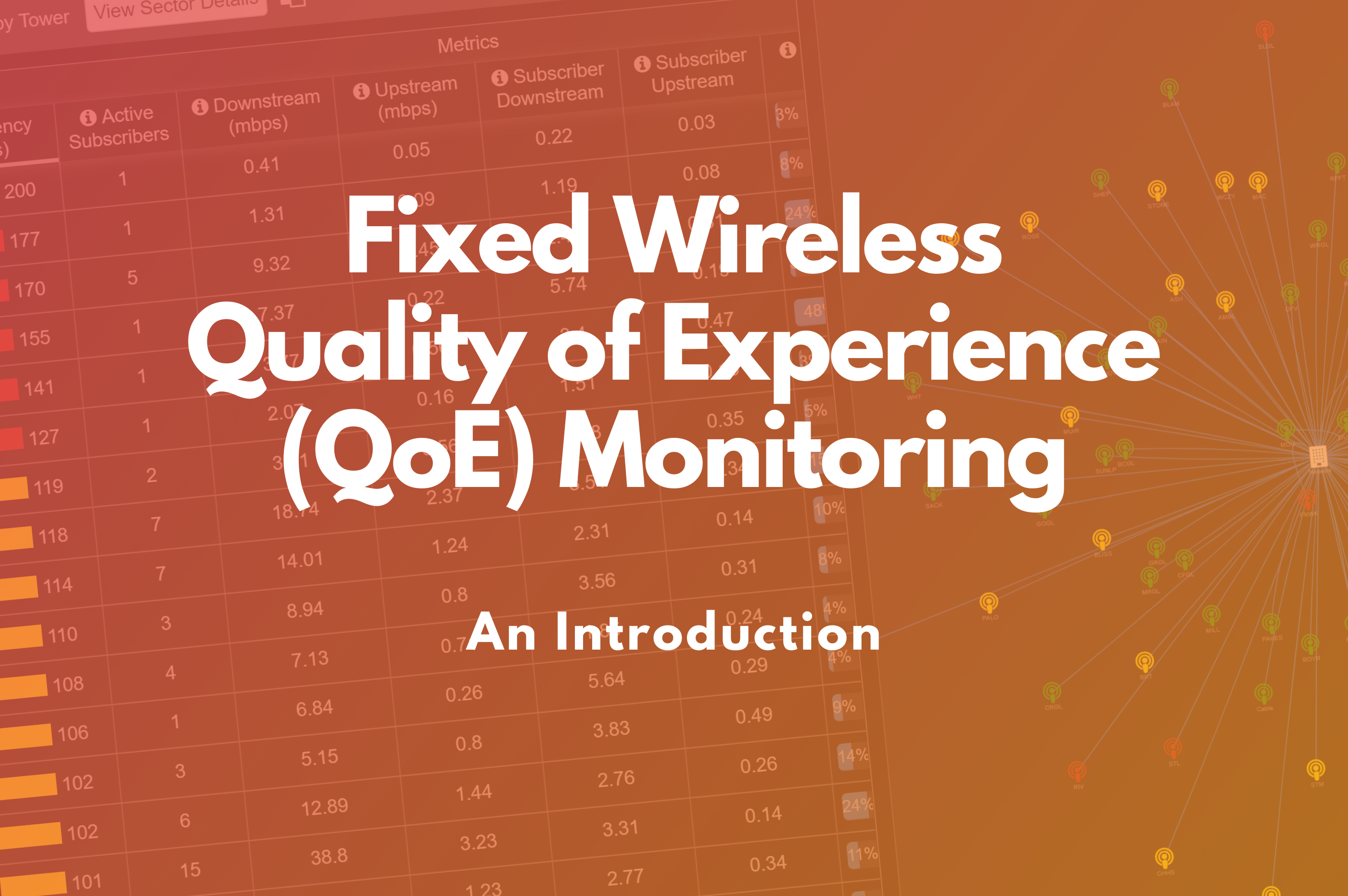 Video Blog – Fixed Wireless Quality of Experience (QoE) Monitoring: An Introduction