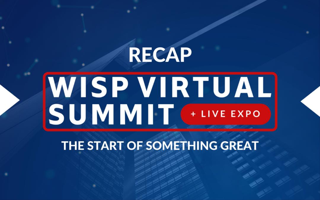 WISP Virtual Summit 2020: The Start of Something Great